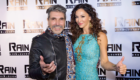 Latin Singer Music Producer Diego Verdaguer and Sofia Milos