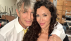 During the filming of FAKE NEWS starring Sofia Milos and Eric Roberts