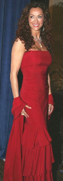 As a presenter and spokesperson at the Citizens Commission of Human Rights Gala, Feb. 28th, 2005, in Narciso Rogriguez