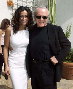 Sofia and Anthony Hopkins.