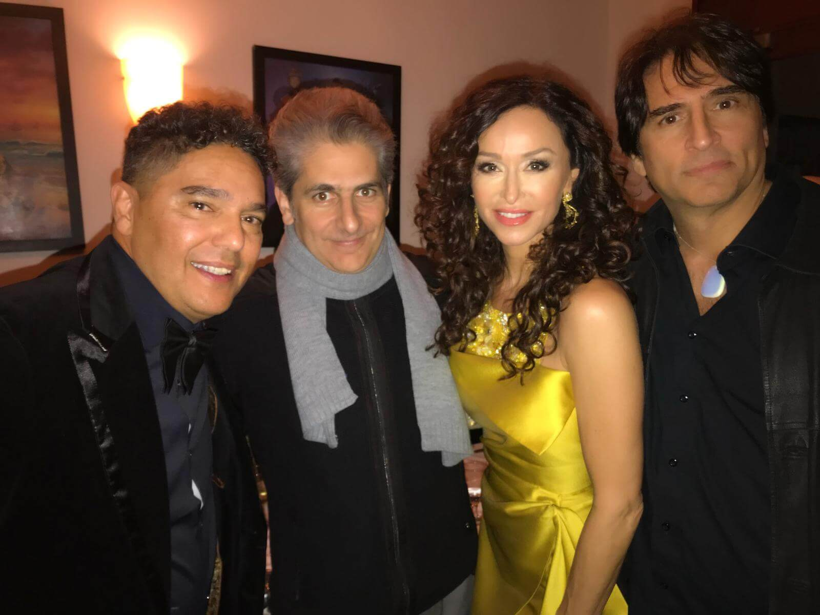 Some of the The Sopranos gang at the Los Angeles Italia Film Festival Michael Imperioli  Sofia Milos Vincent Spano