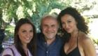 Jerry Cala and Sofia Milos on the Set