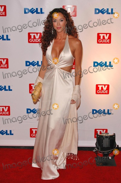 Sofia at the TV Guide Emmy After Party on 09-19-04 in a beautiful Pamella Roland dress