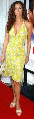 """Monster In Law"" premiere, Los Angeles 2005, in Versace"